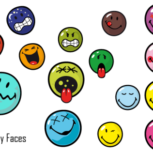 316x316 25 Smiley Face Thumbs Up Vectors Download Free Vector Art