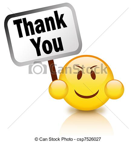 450x470 Face Thank You Clipart