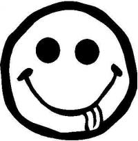200x203 Happy Face Decals