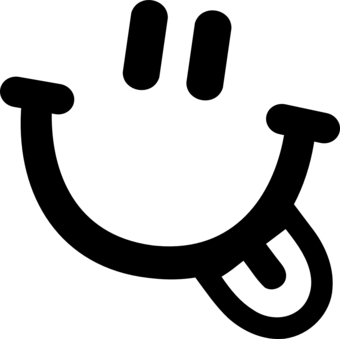 340x339 Smiley Face With Rainbow Mustache Clipart Panda