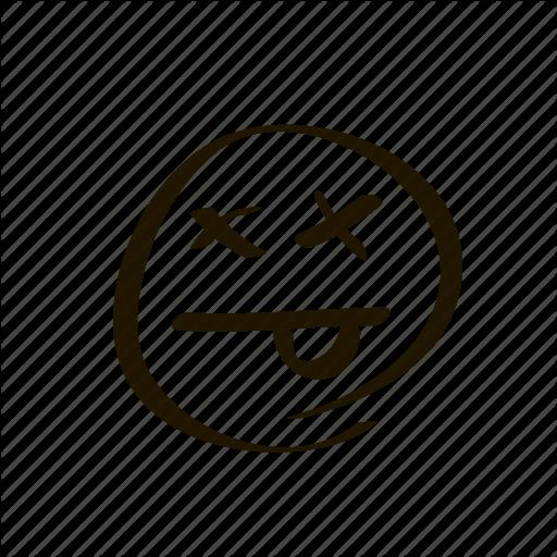 512x512 Dead Clipart Smiley Face