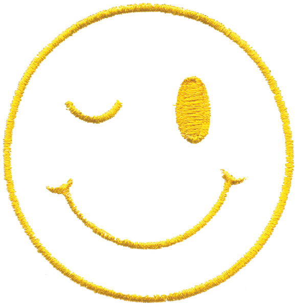 Smiley face transparent background free download best smiley face 581x600 winking smiley face embroidery designs machine embroidery designs voltagebd Image collections