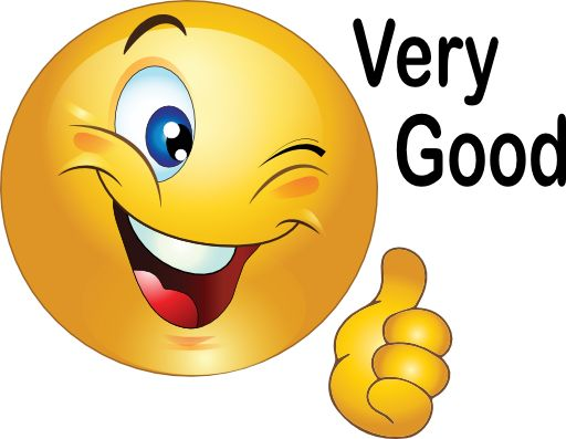 512x397 Smiley Face Clip Art Thumbs Up Free Clipart 2