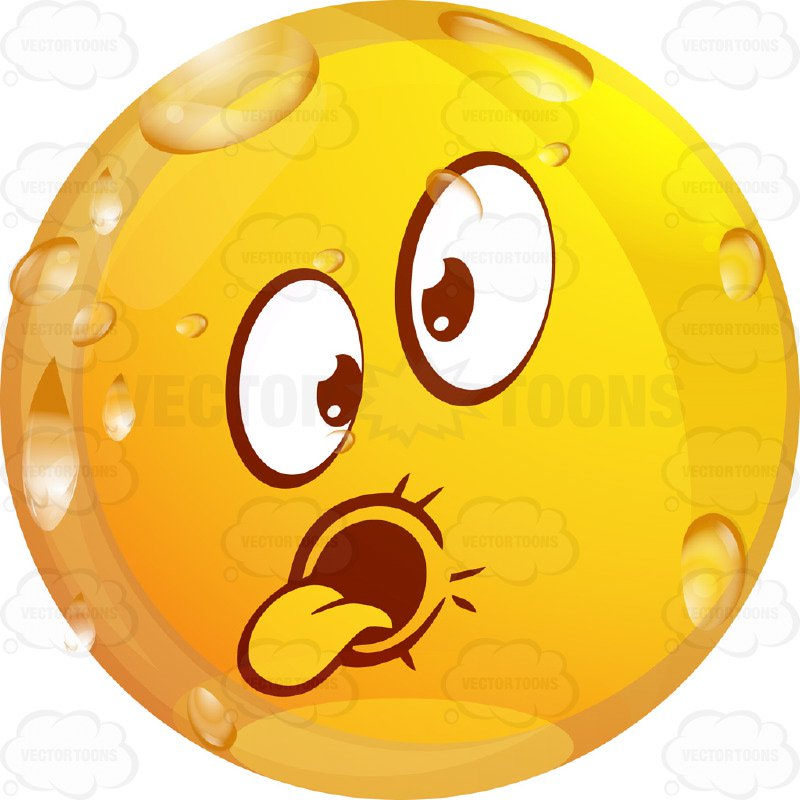 800x800 Goofy Wet Yellow Smiley Face Emoticon Sticking Out Tongue