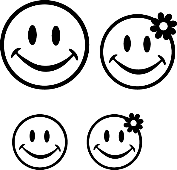 593x568 Female Smiley Face