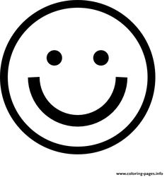 236x251 Print Laughing Face Emoji Black And White Smiling Face With Hear