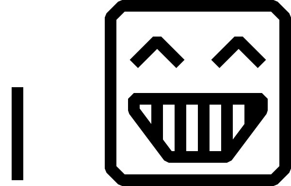 600x384 Black And White Smiley Faces