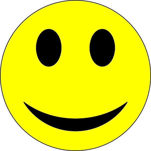 600x600 Smiley Face Clip Art Free Download