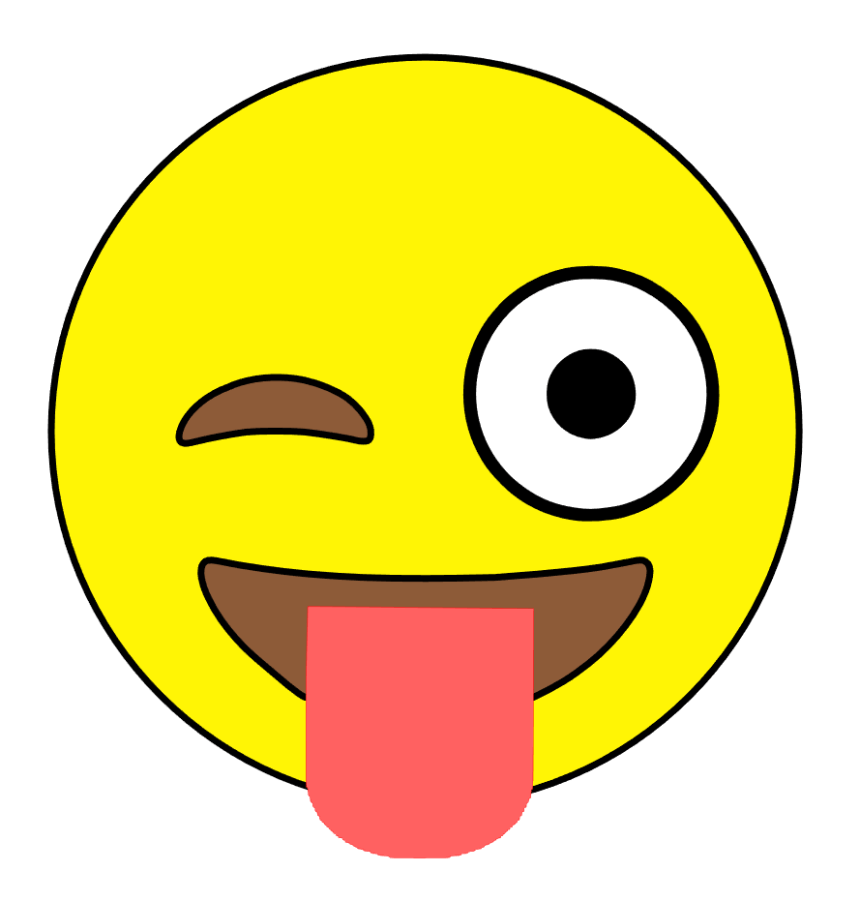 860x901 Free Svg Lots Of Emoticons Emoji Here Wink