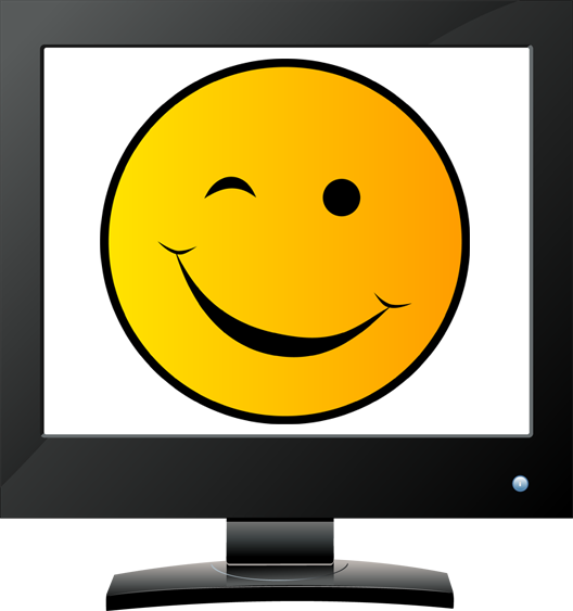 528x563 Smiley Face Wink Thumbs Up Clipart Panda