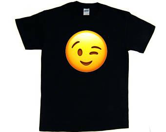 340x270 Wink Face Emoji Etsy