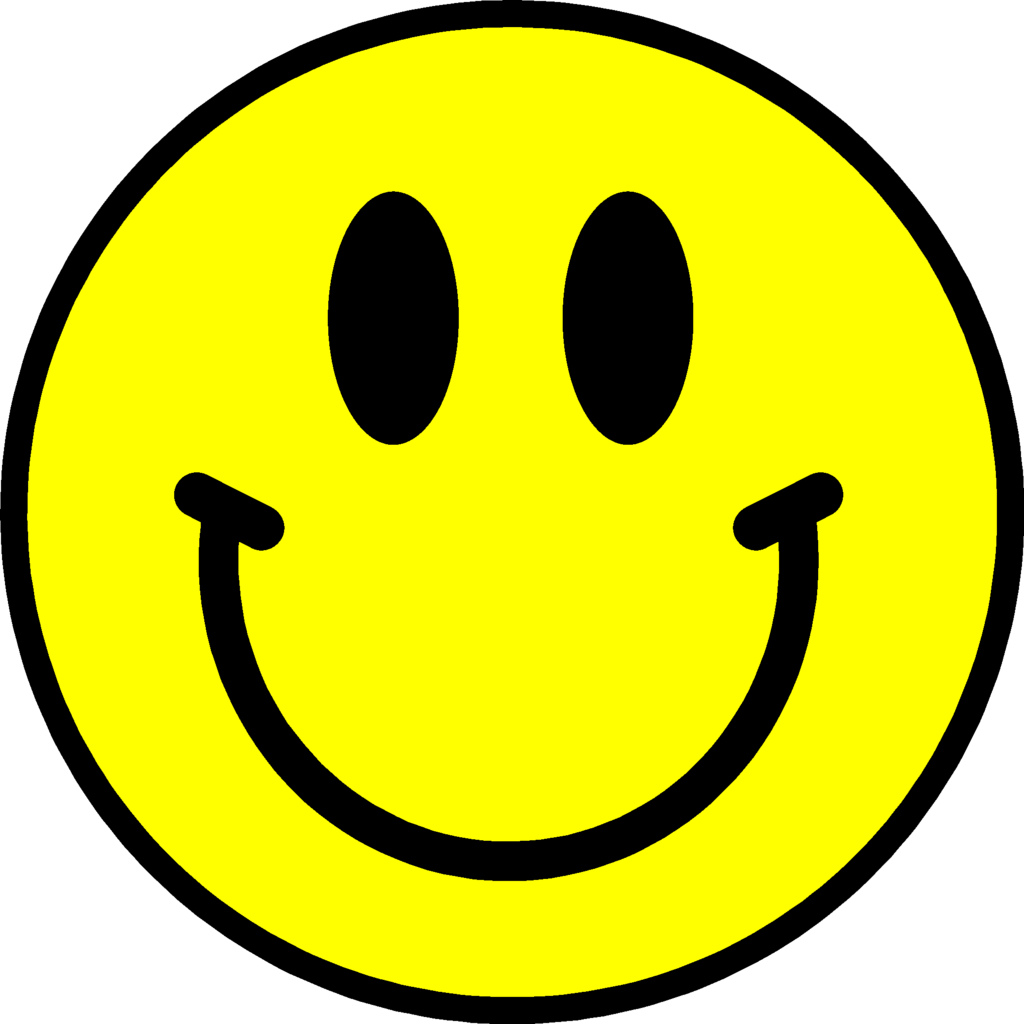 1024x1024 Clipart Smiley