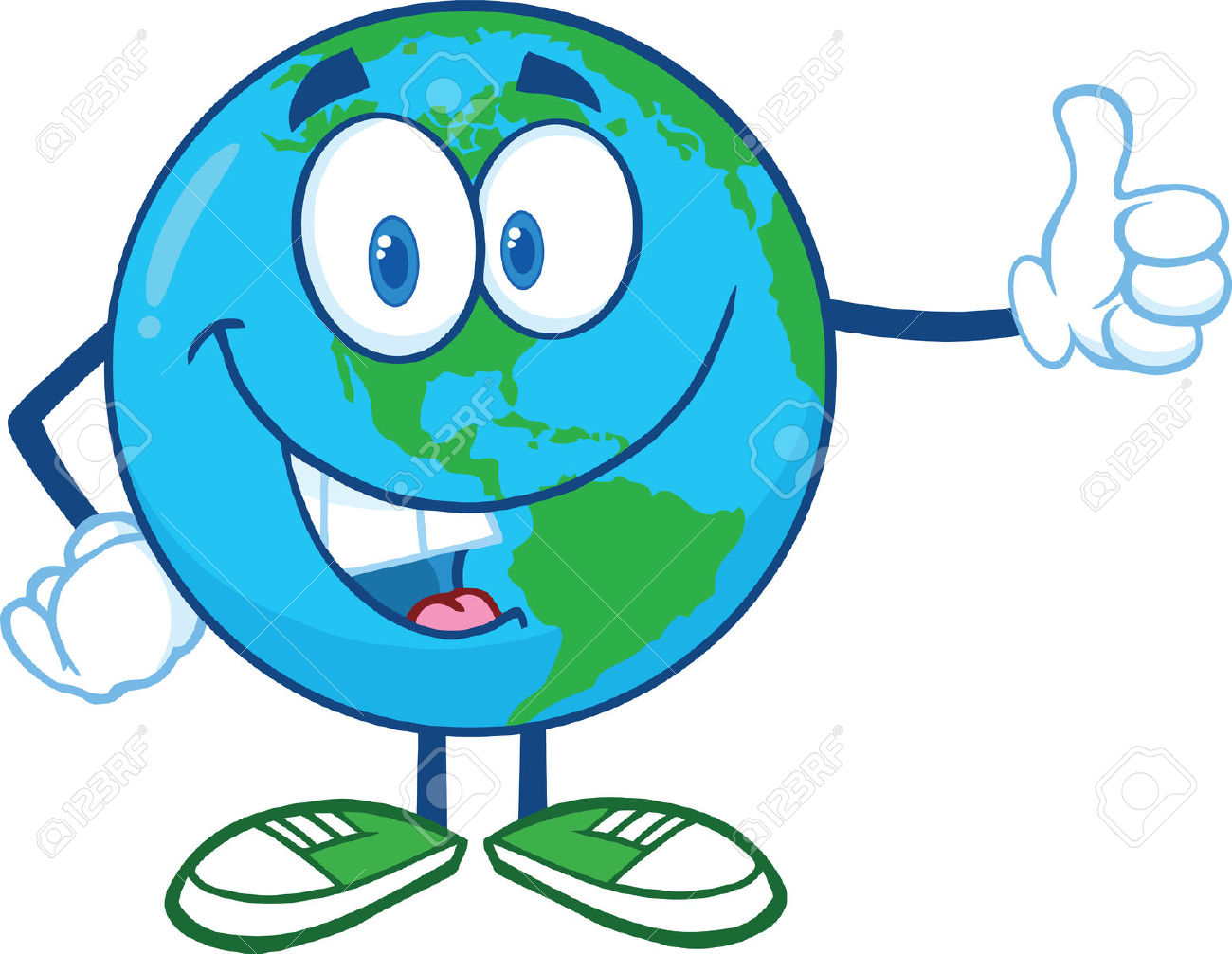 1300x1007 Planet Earth Clipart Smiley
