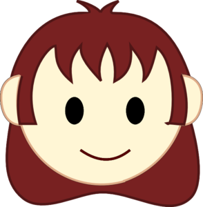 294x300 Happy Face Girl Clipart