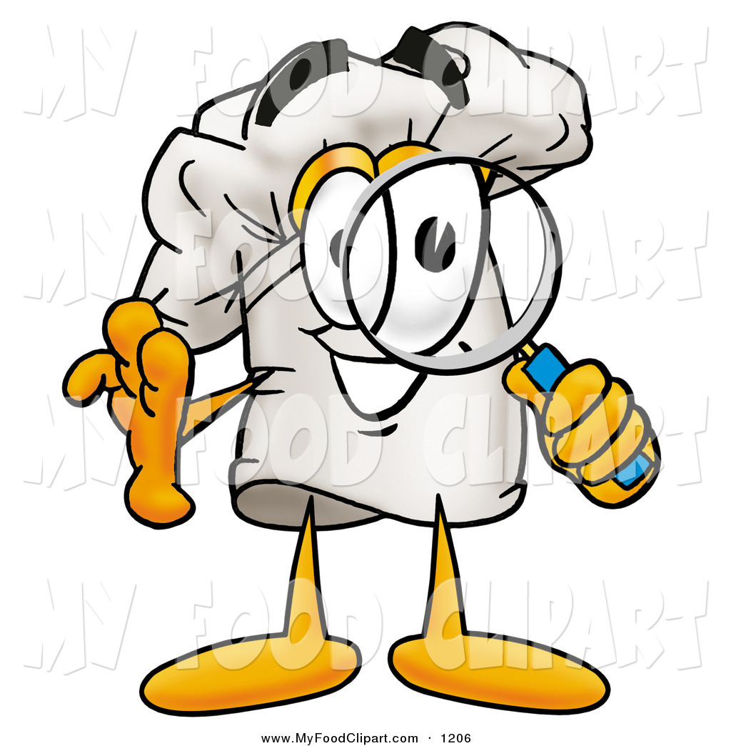 1024x1044 Food Clip Art of a Smiling Chefs Hat Mascot Cartoon Character