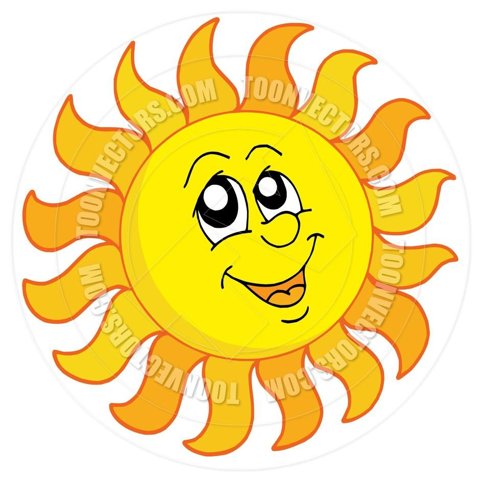 940x940 Smiling Sun Clip Art