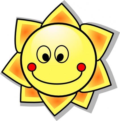 423x425 Smiling Sun Face Clipart Panda