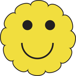 300x300 Sunny Smiley Face Clip Art
