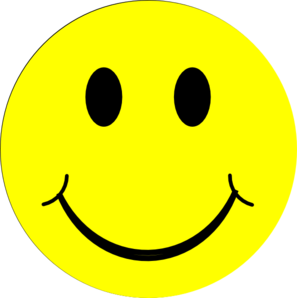 297x298 Yellow Happy Face Clip Art