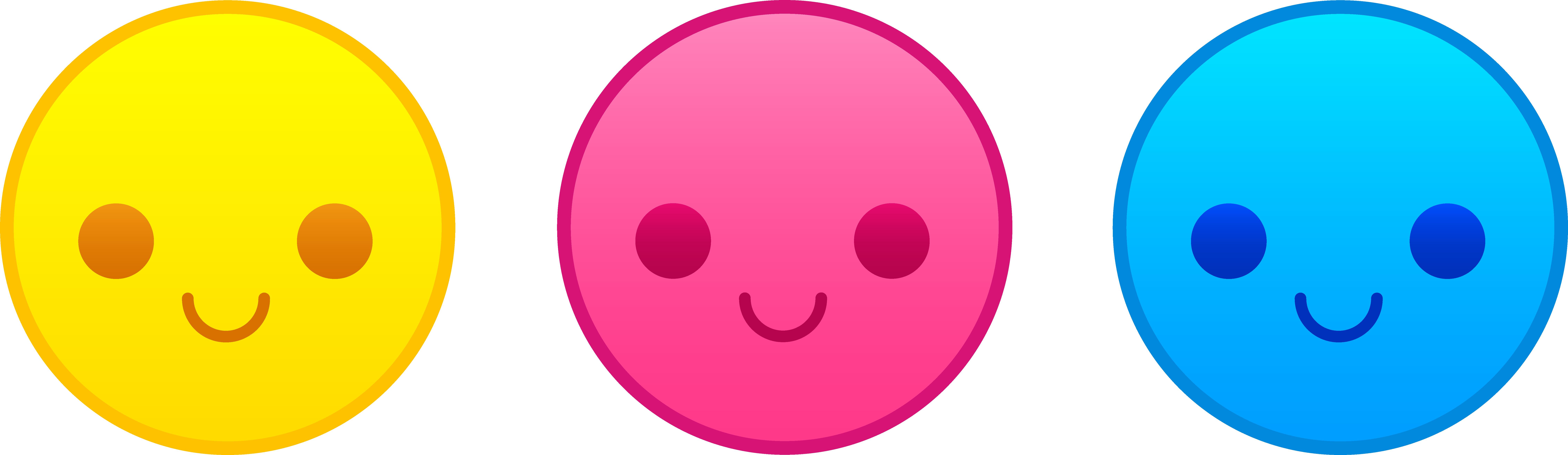 9039x2626 Happy Face Smiley Face Happy Star Clip Art Image