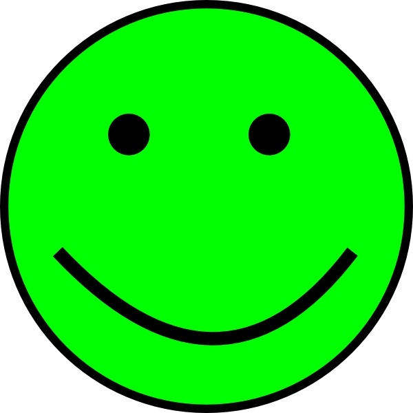 600x600 Happy Smiling Face clip art Free vector in Open office drawing svg