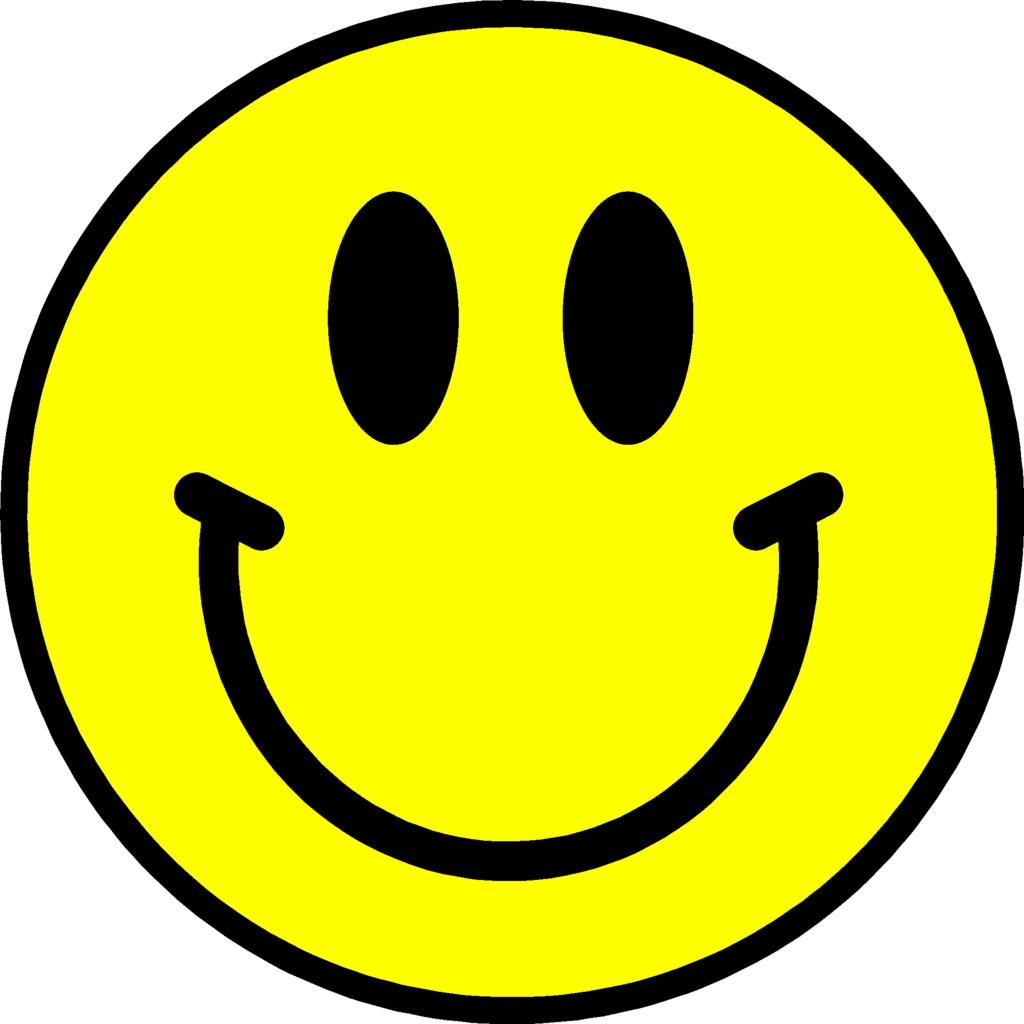 1024x1024 Smiling Face Clip Art