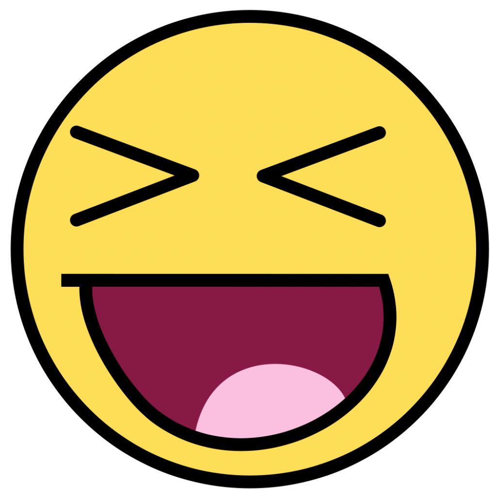 1024x1024 Big Smile Smiling Face Clipart