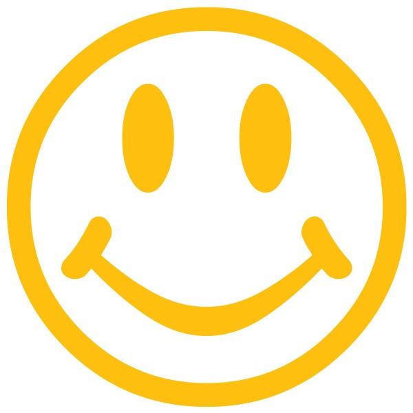 600x600 Neutral Smiley Face Clip Art