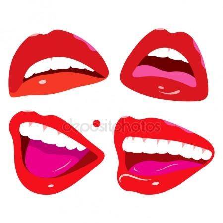 450x450 Beautiful Smiling Mouth Stock Vectors, Royalty Free Beautiful