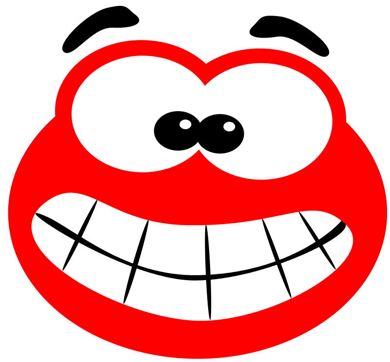 800x743 Free Clipart Blob Smiling Svk Ab