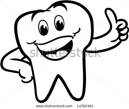 450x380 No Teeth Smile Clipart