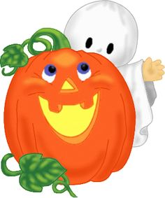 236x283 Halloween, Cute Witch, Ghost And Pumpkins, Clip Art Clip Art