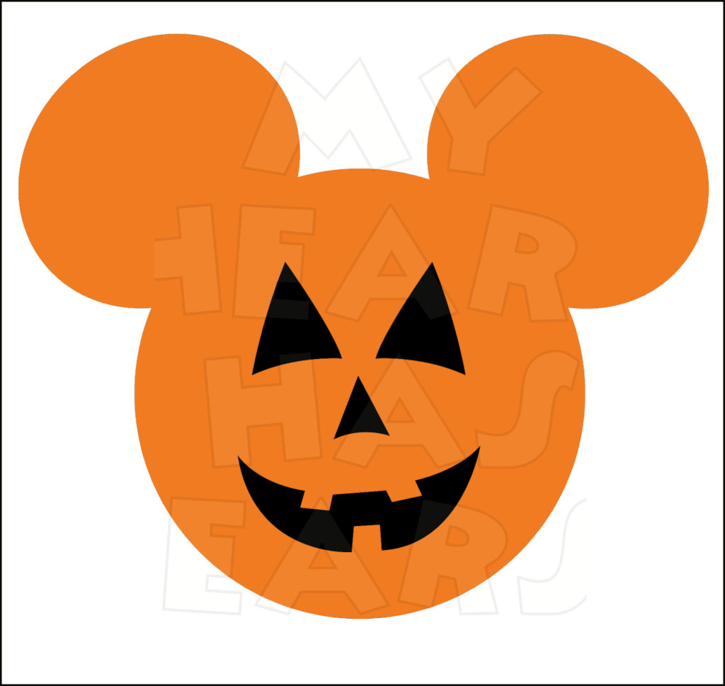 1024x969 Mickey Mouse Pumpkin Jack O Lantern Instant Download Halloween