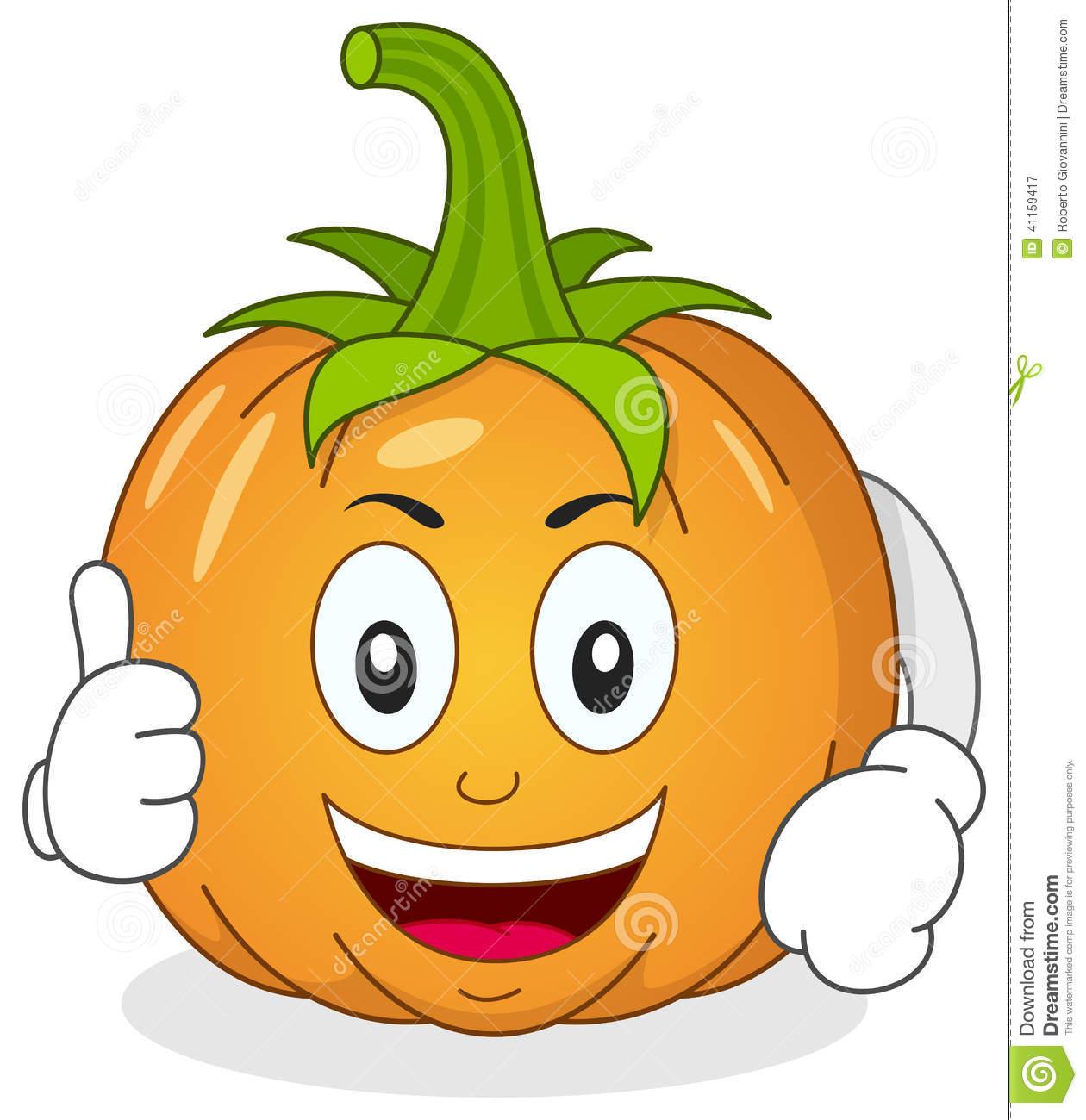 1260x1300 Pumpkin Character Clipart