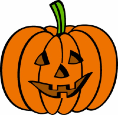 400x392 Pumpkin Clipart Smiley Face