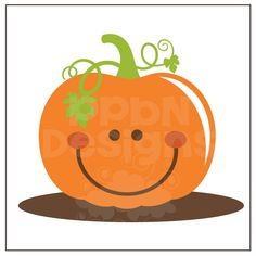 236x236 Smiling Pumpkin Clipart