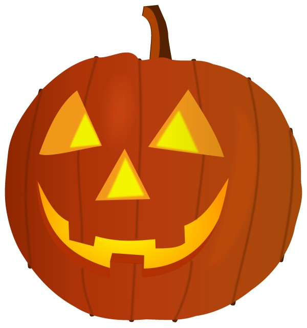 600x641 Smiling Pumpkin Clipart
