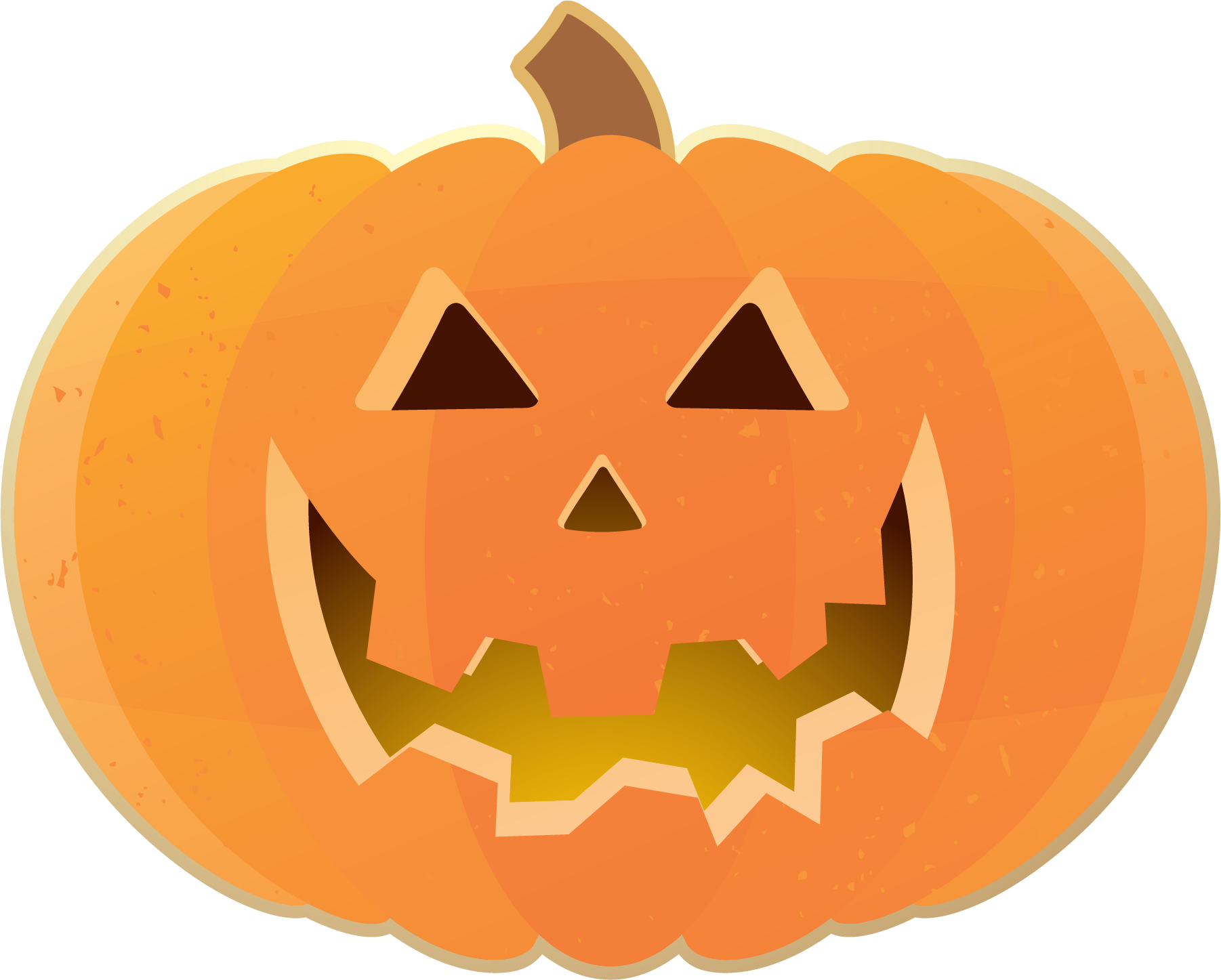 1802x1447 Squash clipart cute halloween pumpkin