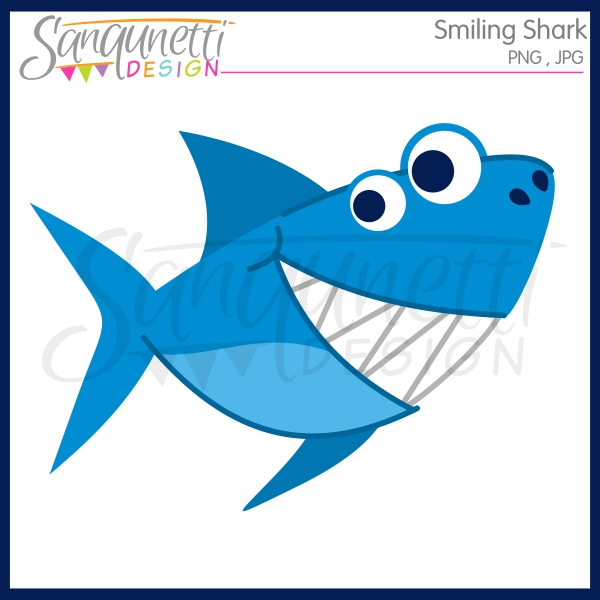 600x600 Sanqunetti Design Smiling Shark