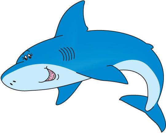 540x433 Shark clipart free