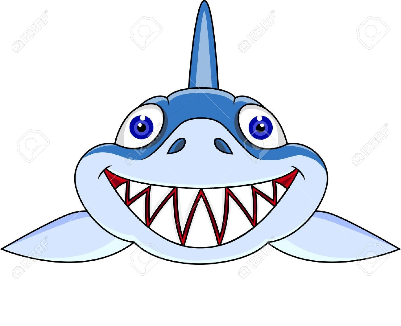 1300x1058 Shark Clipart Shark Head