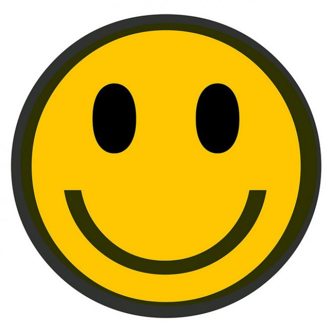659x659 Clipart Face Smiling