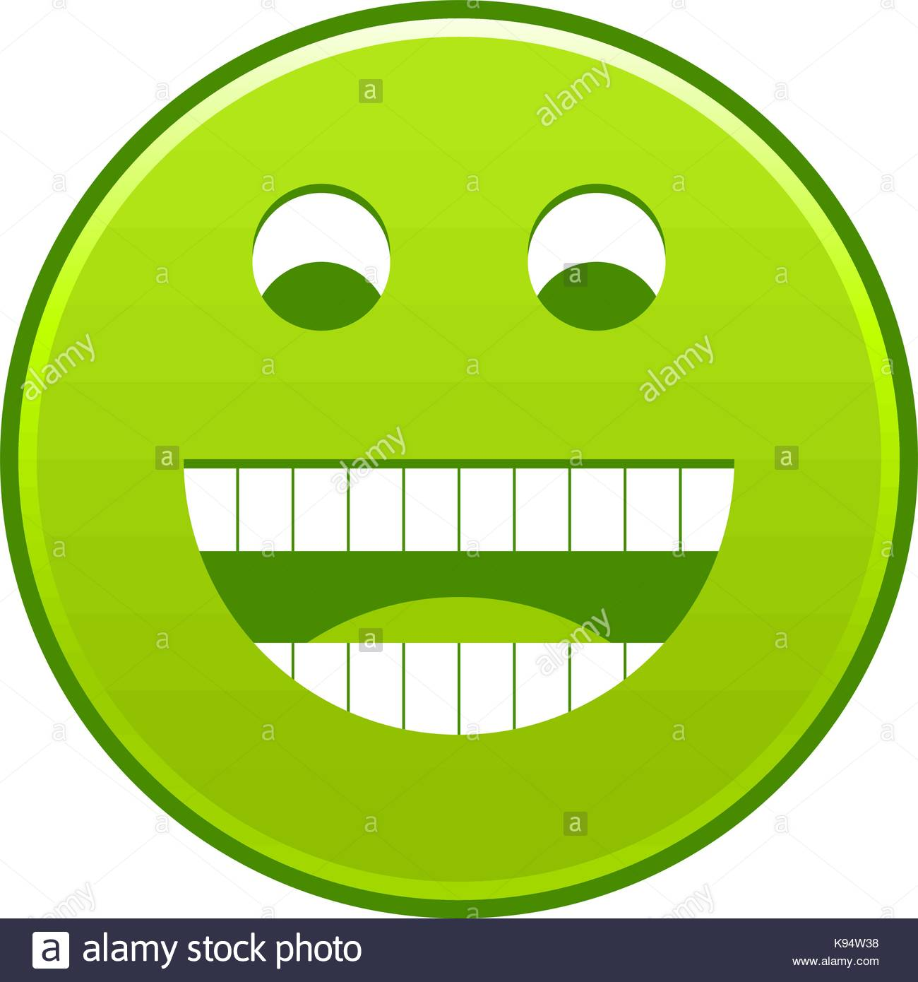 1300x1390 Green Smiling Face Cheerful Smiley Happy Emoticon. Quick And Easy