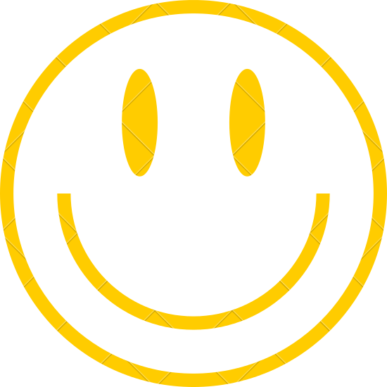 550x550 Yellow Smiley Icon Smiling Face