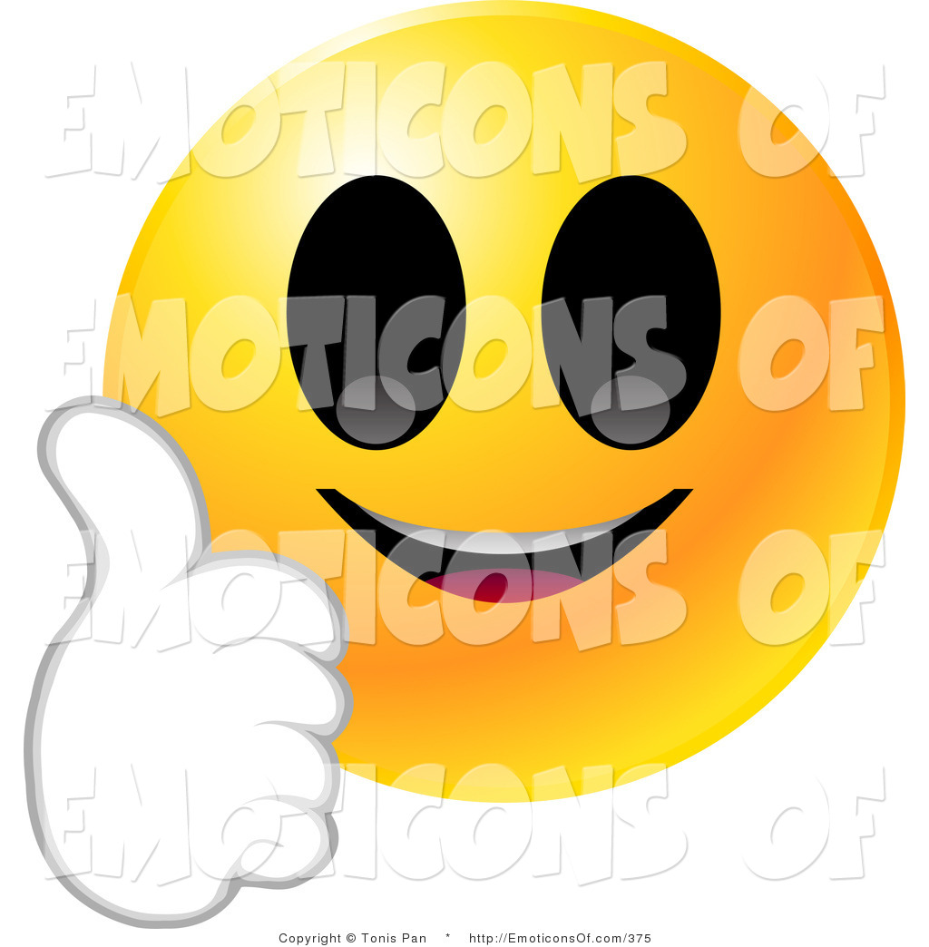 1024x1044 Clip Art Vector Of A Round Yellow Emoticon Face Smiling And Giving