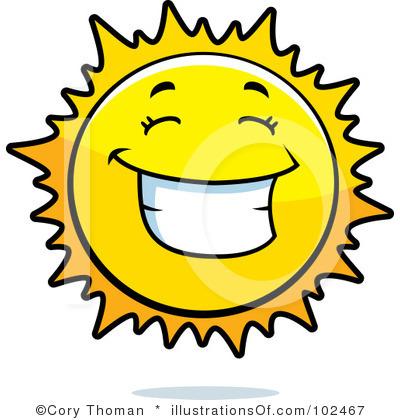 400x420 Clip Art Smiling Sun Clipart