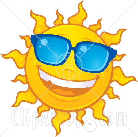 450x448 Fun Clipart Sun Smiling