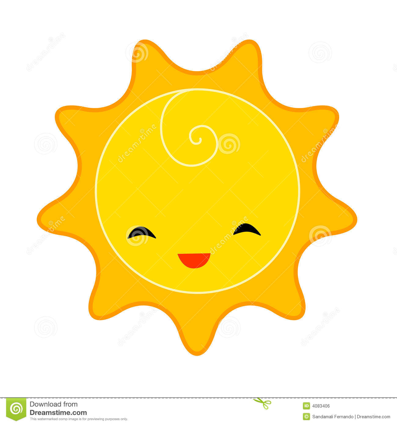 1300x1390 Smiling Sun Clip Art