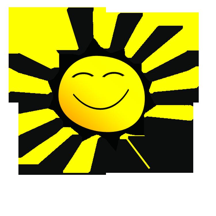 750x750 Smiling Sun Clip Art