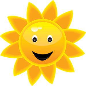 299x300 Smiling Sun Face Clipart Panda
